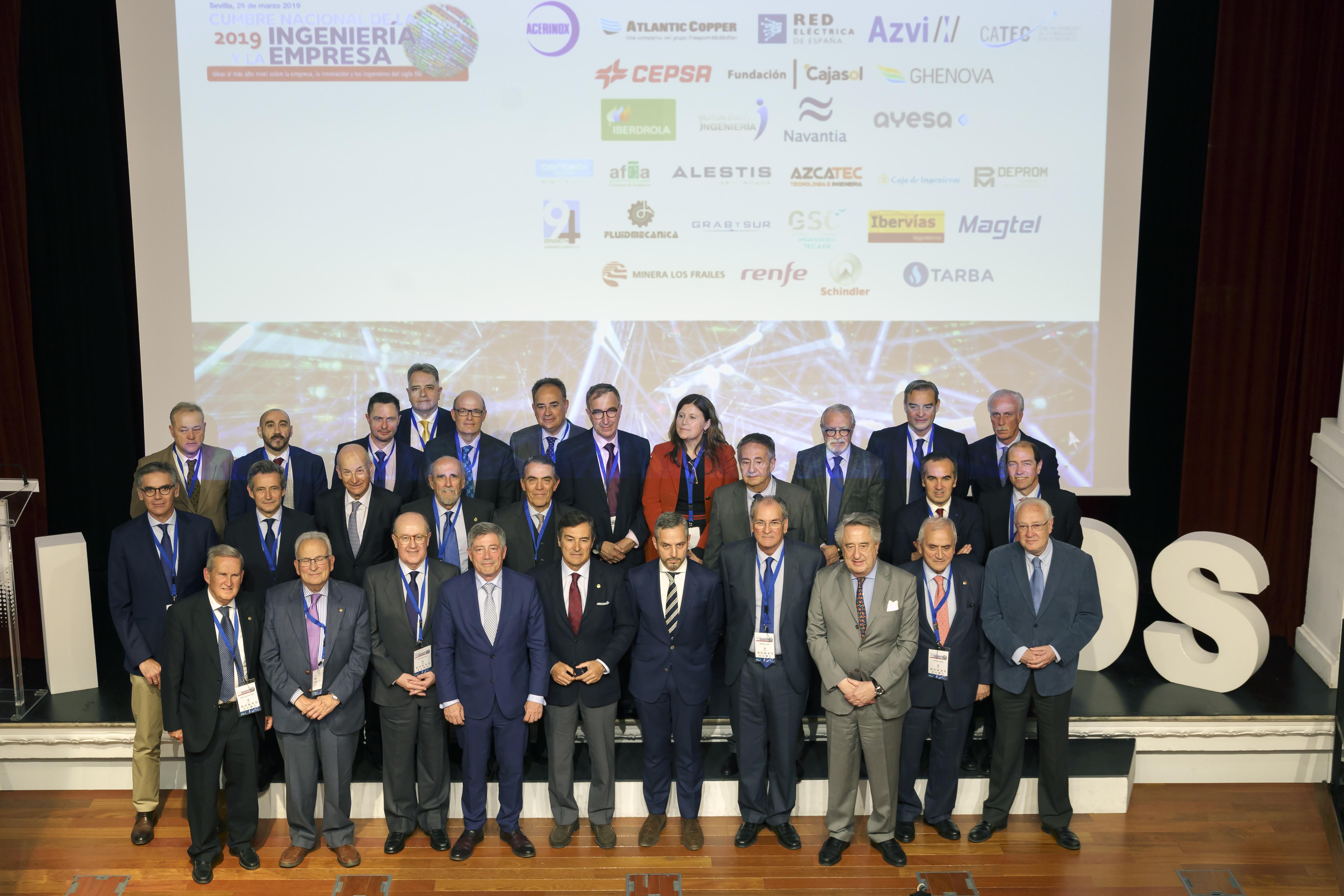 Éxito de participación en la I Cumbre de la Ingeniería y la Empresa organizada por ASIAN con más de 300 personas